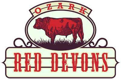 Ozark Red Devon Logo